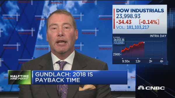 Gundlach says he learned in elementary school that tariffs caused the Great Depression