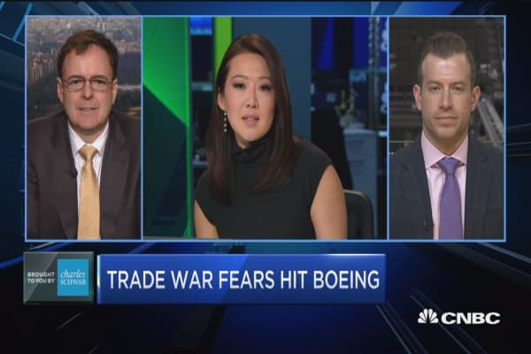 Trading Nation: Trade war fears hit Boeing