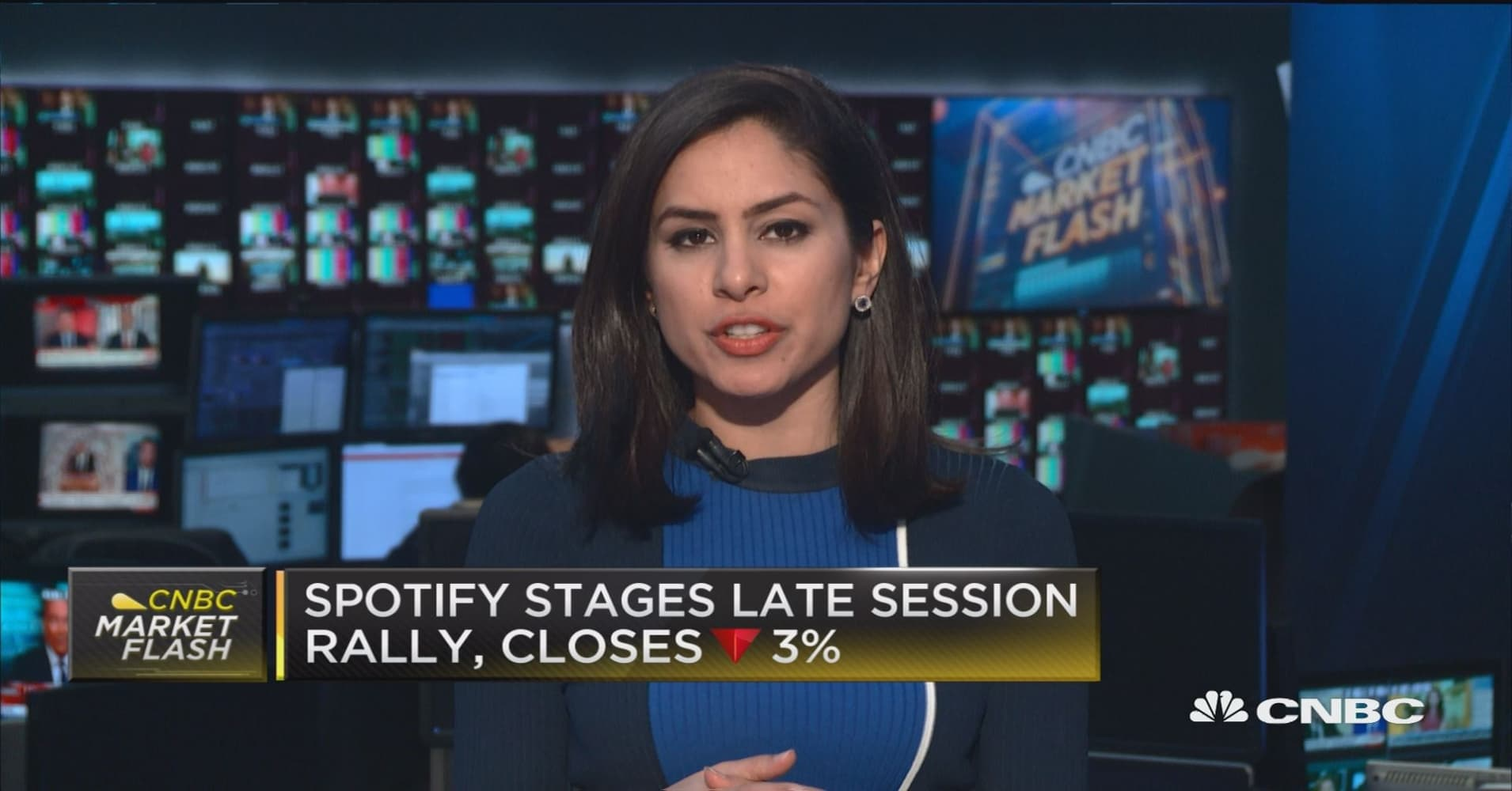 Spotify stages late session rally still closes down 3 malvernweather Images