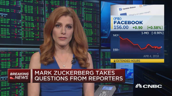 Zuckerberg questioned on staying with the company