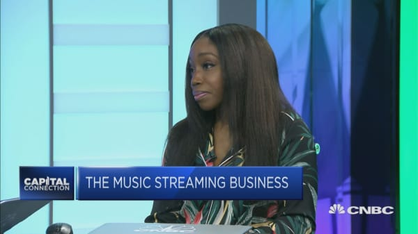 Estelle on Spotify and the music streaming business