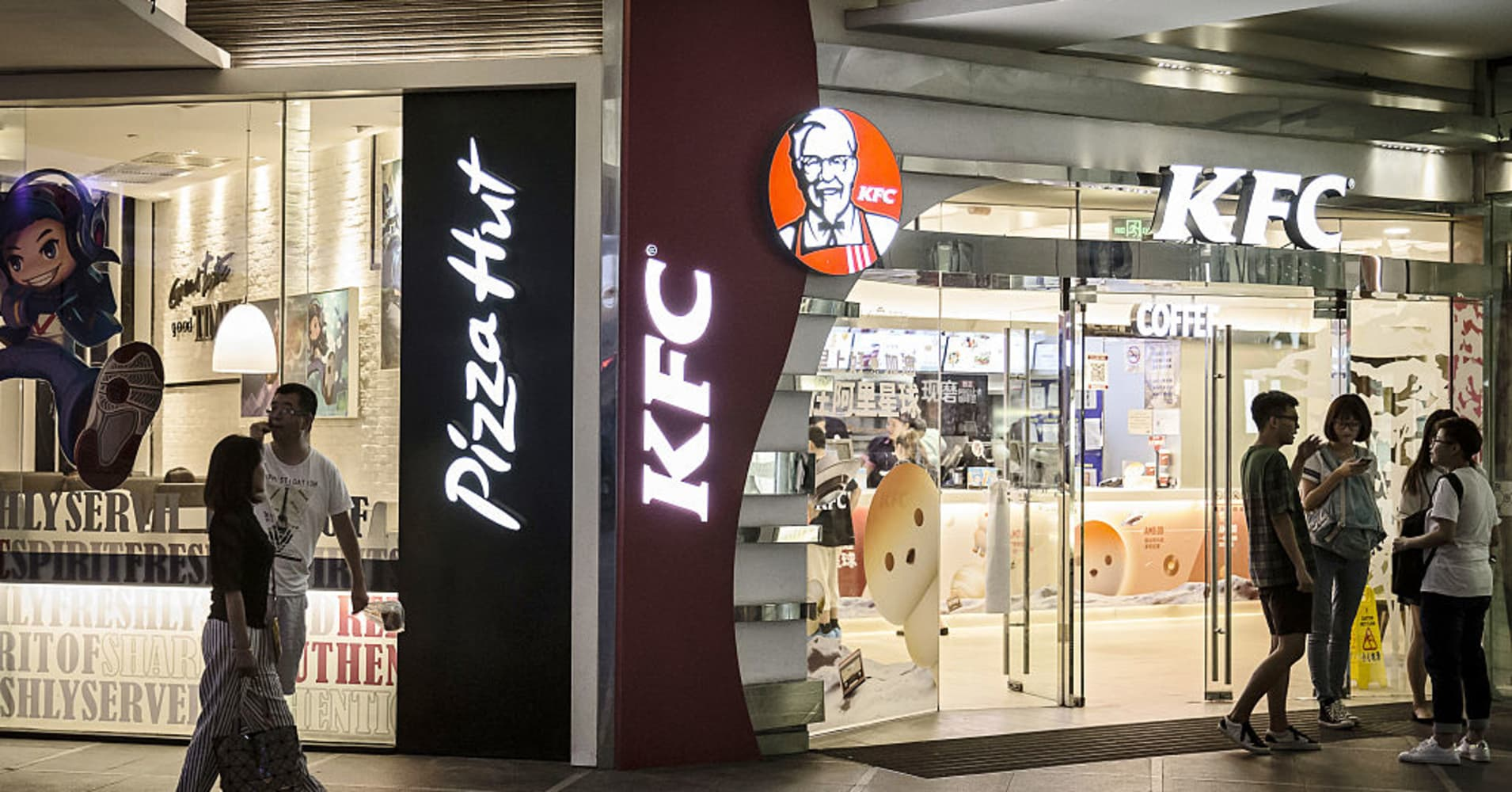 Yum China Shares Rise After Report That It Rejected Buyout Offer