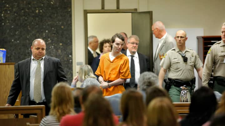 Murder defendant Alan J. Hruby, 20, appeared before District Judge Ken Graham in Stephens County District Court on Thursday, March 10, 2016, to plead guilty for killing his parents and sister in Oct. 2014, at the family home in Duncan, Okla.