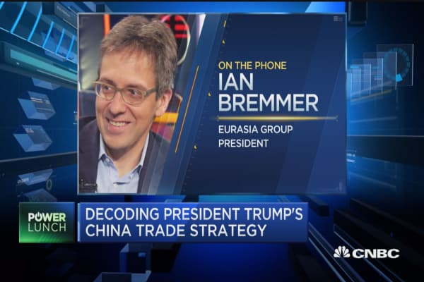 Bremmer: There's no trade war, all we're doing is posturing