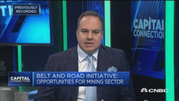 The opportunities for mining in the Belt and Road initiative