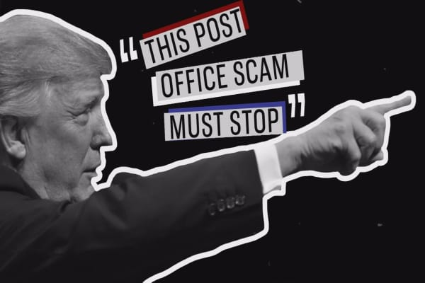 Trump claims Amazon is ripping off the Post Office. Here's what's actually going on.
