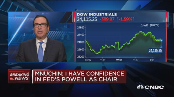 Treasury Secretary Mnuchin: Sanctions are targeting certain behaviors of Russian oligarchs