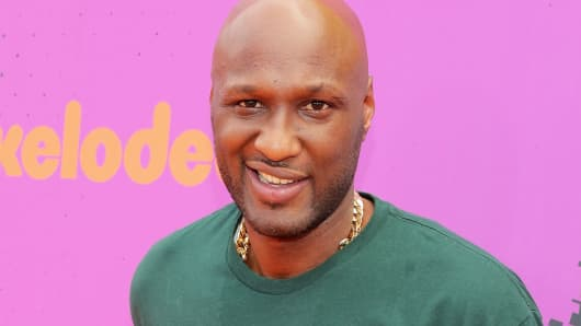 Former NBA player Lamar Odom