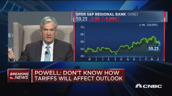 Powell: US banks are competing very successfully around the world