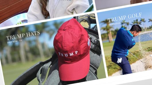 Trump online store pays state taxes in just 2 states  WSJ ccda348c2b8