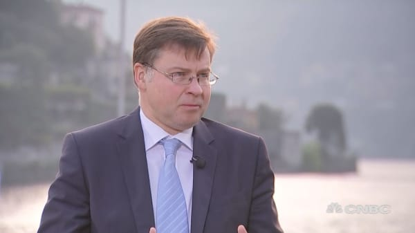 EU's Dombrovskis: Europe must respond to Russia threat