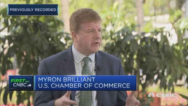 The importance of building confidence between the US and China: US Chamber of Commerce