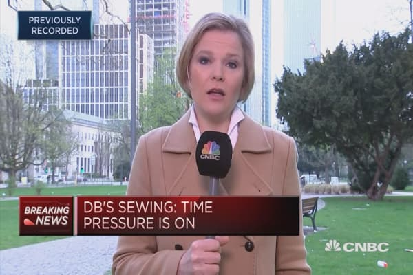 Deutsche Bank's Sewing replaces boss Cryan