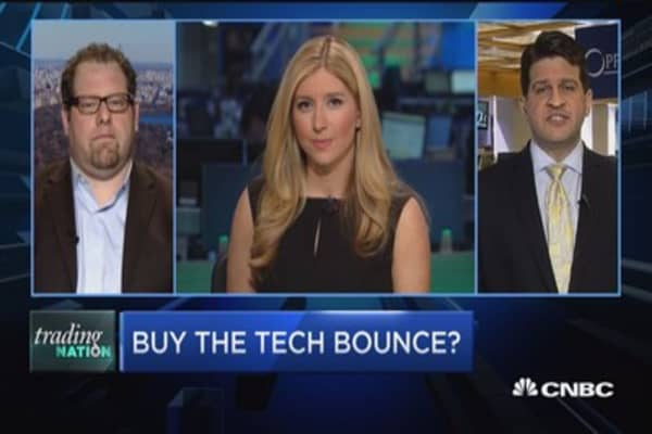 Trading Nation: Buy the tech bounce?