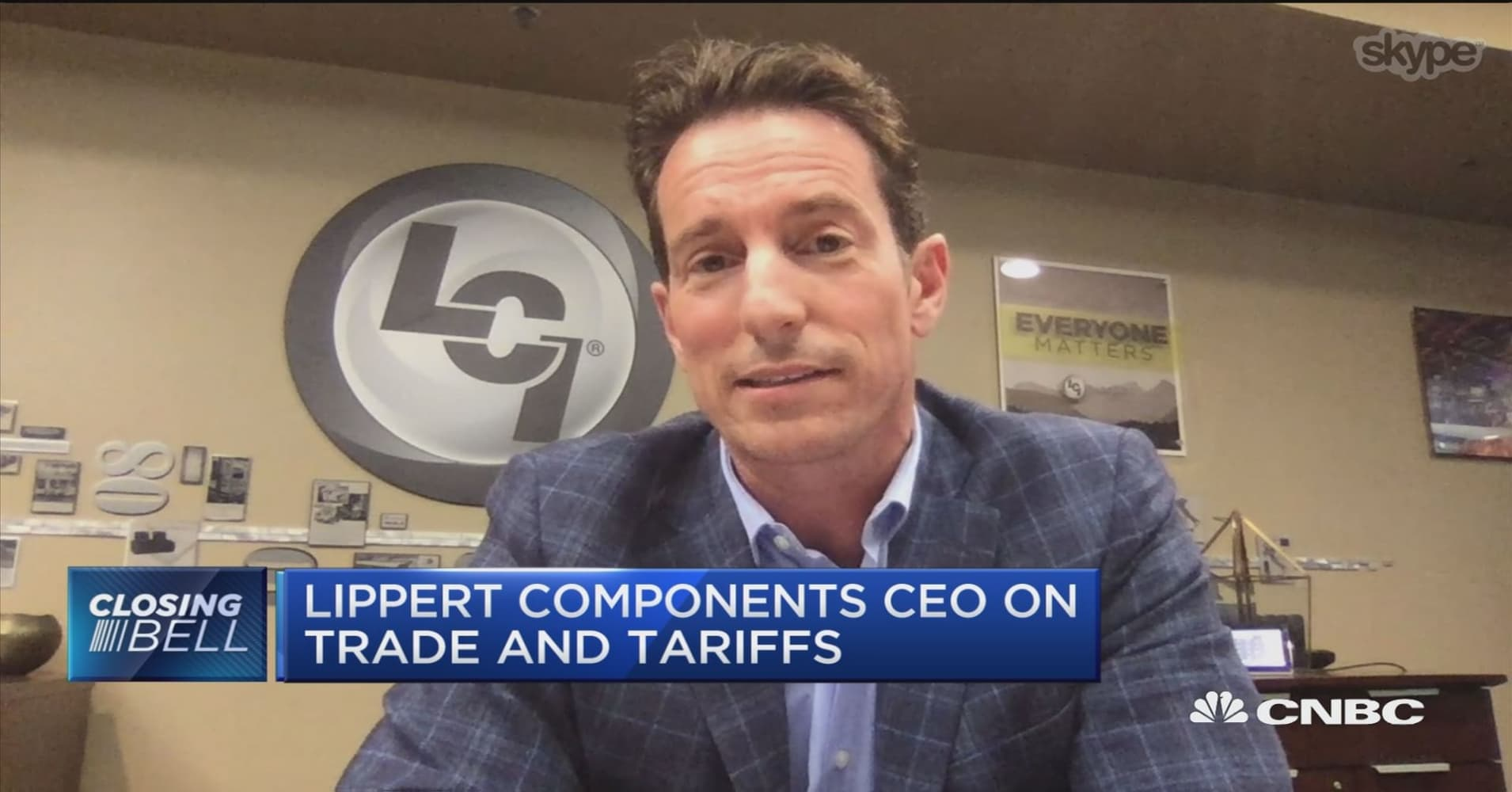 Lippert Components CEO on steel tariffs: We have to find ways to mitigate  those costs