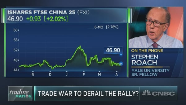 'No one wins' from a trade war, and Wall Street is underestimating the risk, Stephen Roach warns