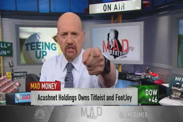 Cramer spots a 'burgeoning bull market' in the golf stocks