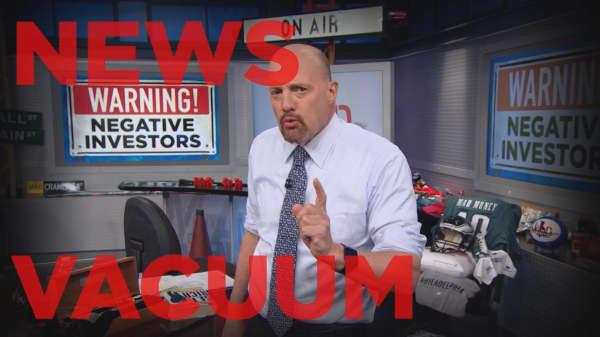 Cramer Remix: Ignoring Washington negatives could benefit your portfolio