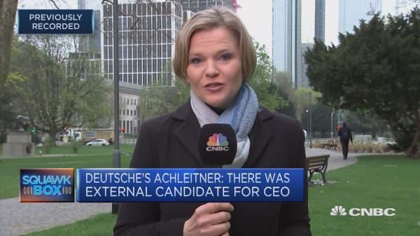 Questions enshroud Deutsche Bank's future