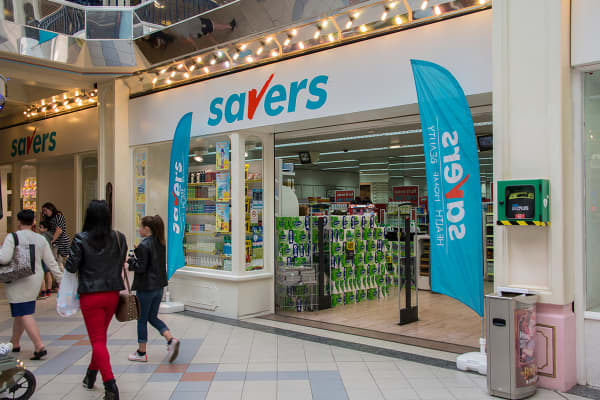 A Savers shop in the UK
