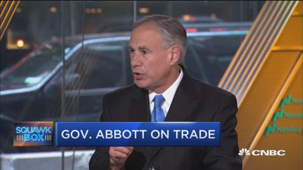 Gov. Abbott on NAFTA: Texas  has a lot on the line