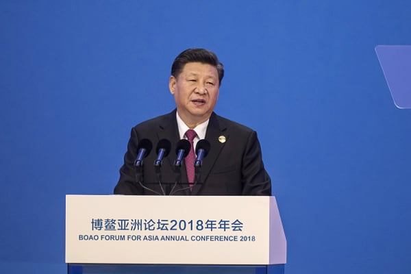 President Xi pledged an 'open' China