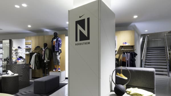Nordstrom Men's Store in New York
