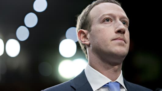 Mark Zuckerberg, chief executive officer and founder of Facebook
