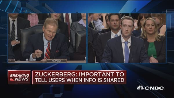 Zuckerberg: A free service is what we want to offer
