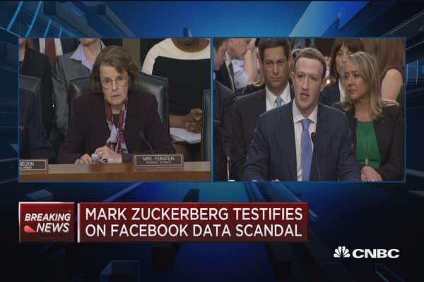Zuckerberg: One of greatest regrets was handling of Russian information operations