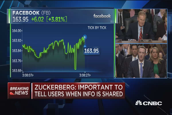 Mark Zuckerberg says Facebook didn't notify FTC of leak: 'We considered it a closed case'