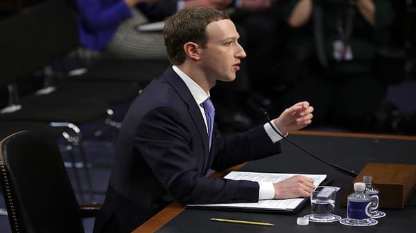 Zuckerberg: We welcome regulation if it's right