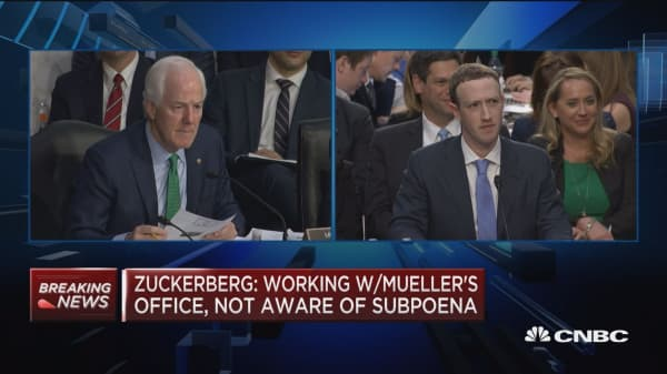 Zuckerberg: We're going to have tools that are going to be able to identify more bad content