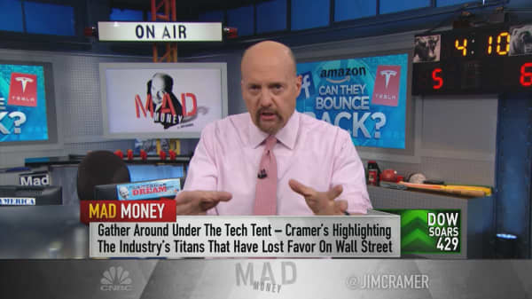 Cramer assesses the damage in Facebook, Tesla and Amazon's stocks after scandals