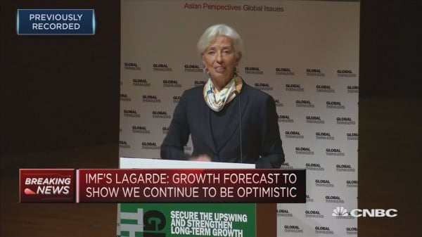 Christine Lagarde speaks on global growth and opportunities at The University of Hong Kong