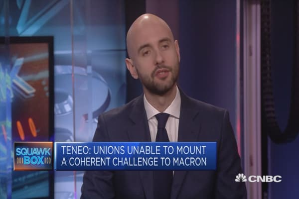 It's a fertile environment for a reform in France, says analyst