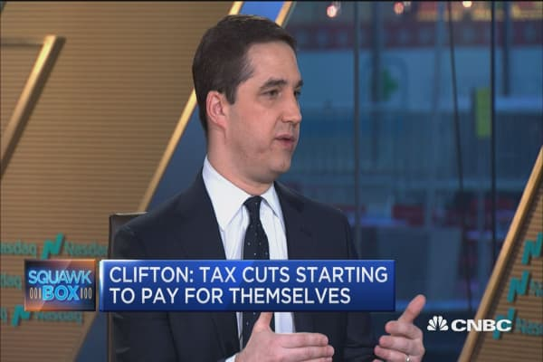 Tax cuts are beginning to pay for themselves, says researcher