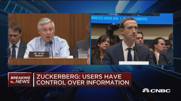 Zuckerberg: It is inevitable that there should be some regulation