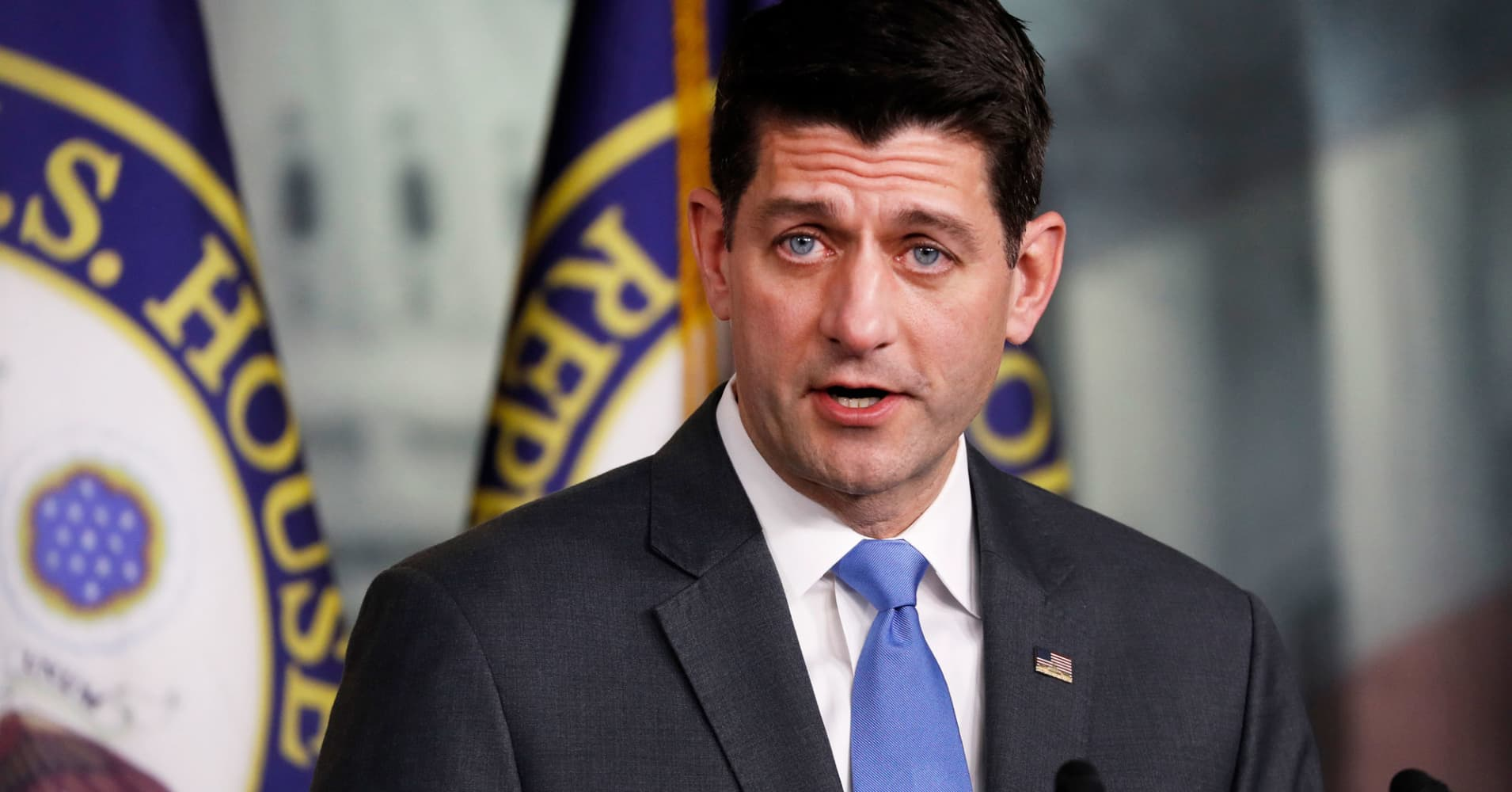 Paul Ryan could get a pension of $84,930 a year—here's how that compares to most Americans