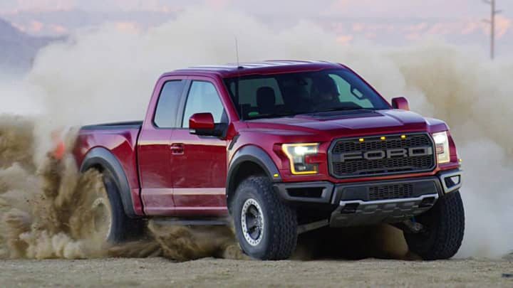 "The Ford F-150 Raptor was modeled in part off desert-racing trucks, and is best suited for ""overland"" off-roading as opposed to rock crawling."