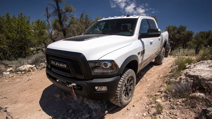 The 2017 Ram Power Wagon, a veteran in the off-road category, was introduced back in 2005, before many other well-known models. The truck has more than 14 inches of ground clearance.