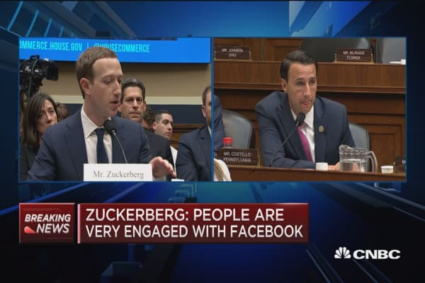 Zuckerberg: There are good parts of GDPR
