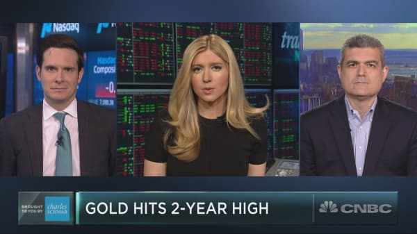 Gold is surging to two-year highs. But does the rally have legs?