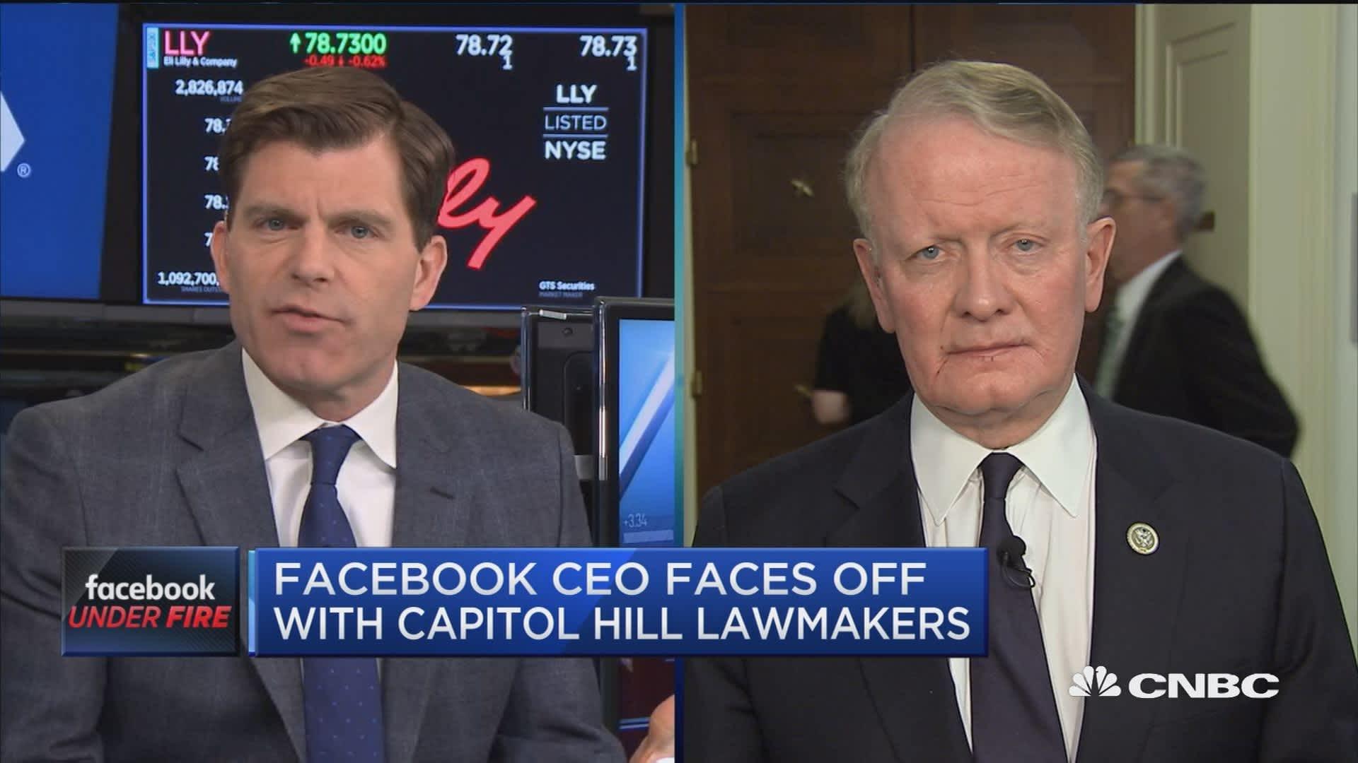 Mark Zuckerberg - CNBC
