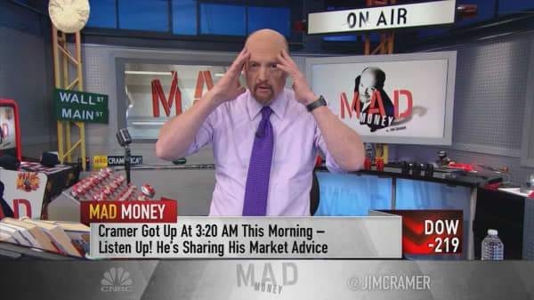 Cramer: My trust is selling Facebook—you just can't like the stock as much as you used to