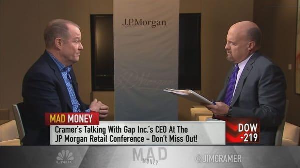 Gap CEO Art Peck: Big data gives us major advantages over competitors