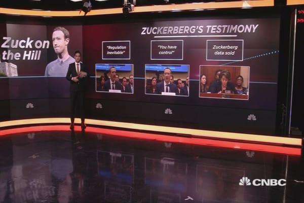 Zuckerberg day two: Facebook's CEO testifies in front of US Congress
