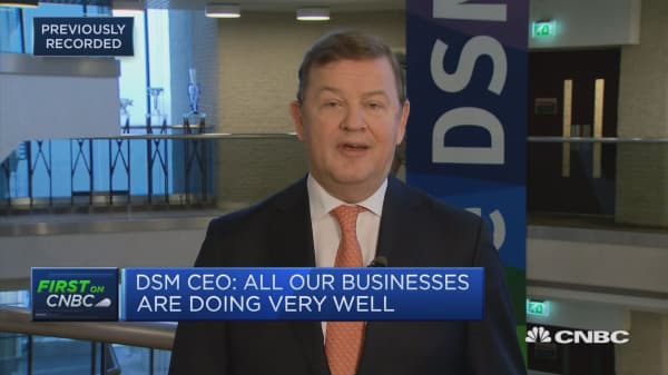 DSM CEO: We're on the right track