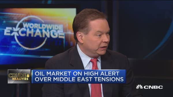 John Kilduff talks about rising oil prices amid rising tensions in the Middle East