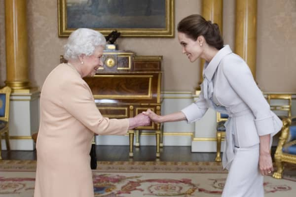 Both Queen Elizabeth II and Angelina Jolie featured in YouGov's top 10 most admired women list for 2018